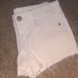 American Eagle Off-white Shorts SIZE 2